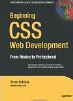 Beginning CSS Web Development: From Novice to Professional by Simon Collison